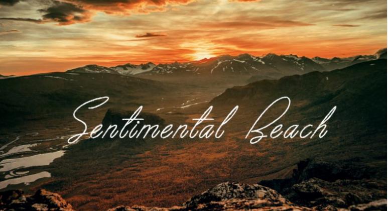 Sentimental Beach Font