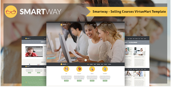 Smartway – Selling Courses VirtueMart Template