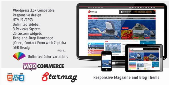 StarMag - News & Magazine Theme