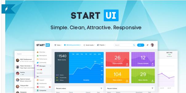 StartUI - Premium Bootstrap 4 Admin Dashboard Template