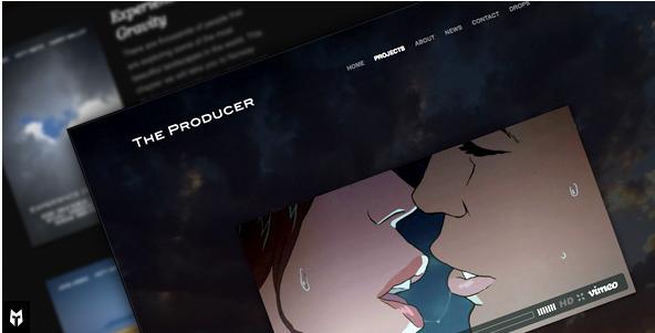 The Producer Responsive Film Studio WP Theme