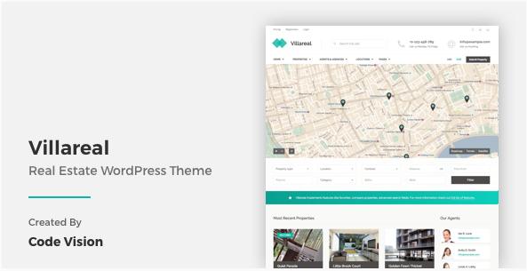Villareal - Real Estate WordPress Theme