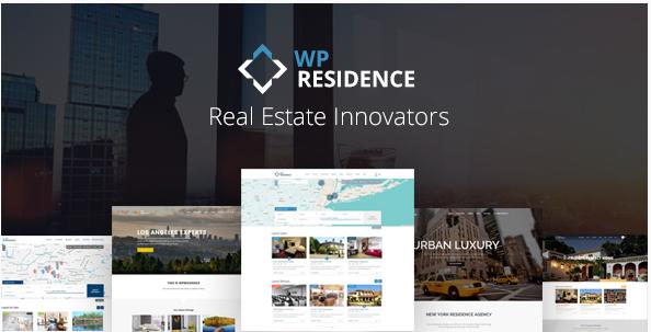 WP Residence - Real Estate WordPress Theme