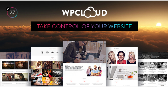 WPCLOUD - Creative One-Page Theme