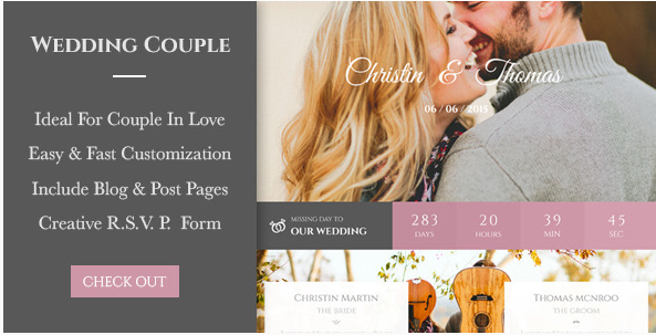Wedding Couple - Love Page For Wedding Cerimony
