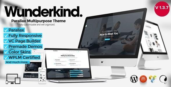 Best WordPress Parallax Themes