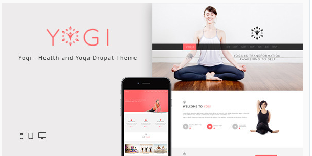 Yogi - Health Beauty & Yoga Drupal Theme