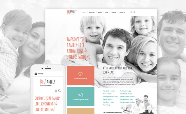 30+ Best Home And Family Joomla Themes 2016