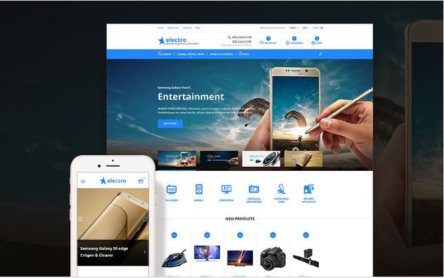 electro Best Premium Shopping Magento Themes