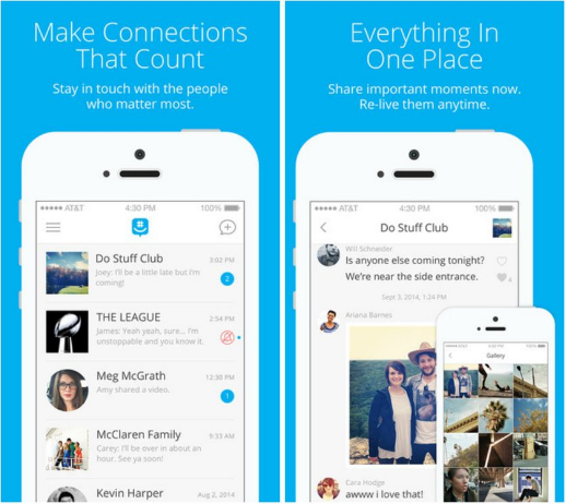 grp best social media apps ever made for iPhone