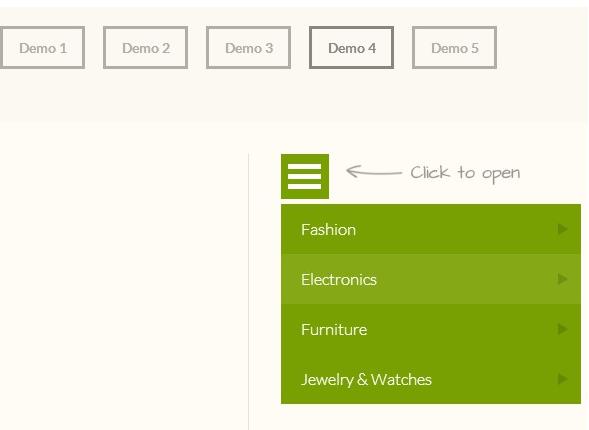 Free HTML5 CSS3 jQuery DropDown Menus