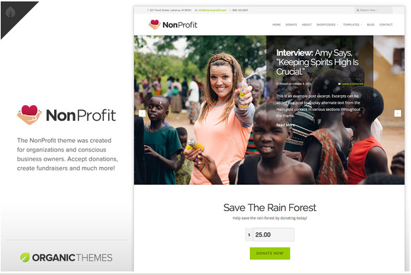 15+ Non Profit PHP Themes And Templates