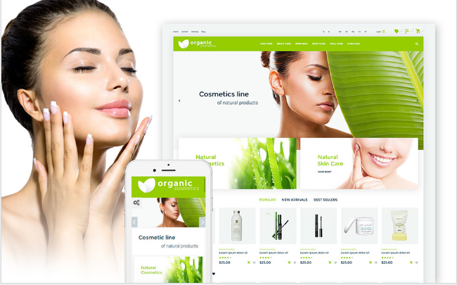 organic Best Premium Shopping Prestashop Themes wpshopmart