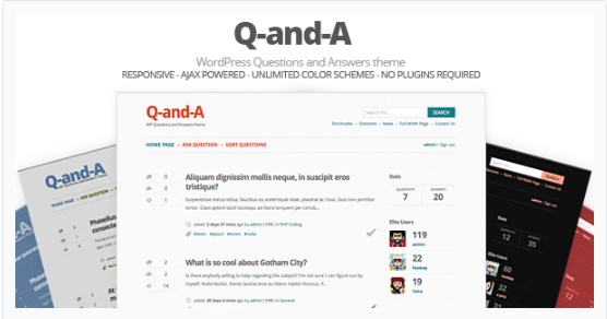 Question Answer WordPress Themes