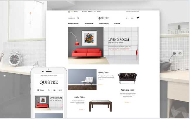 quistre Best Premium Shopping Magento Themes