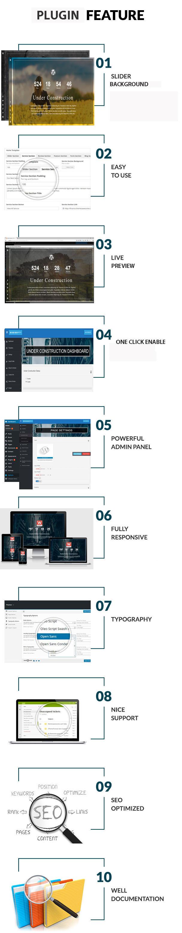 screenshot-3 Under Construction Plugin WordPress
