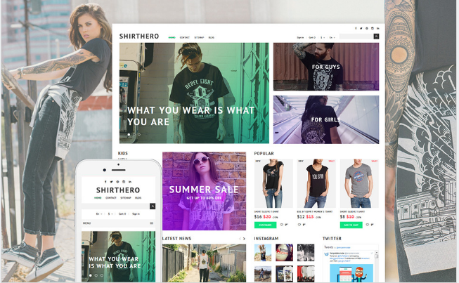 Best Premium Shopping Prestashop Themes