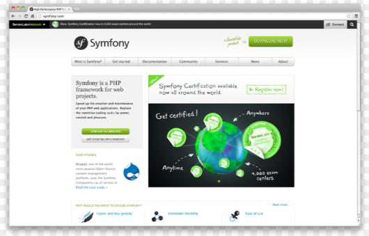 symphony Free Best PHP Frameworks wpshopmart