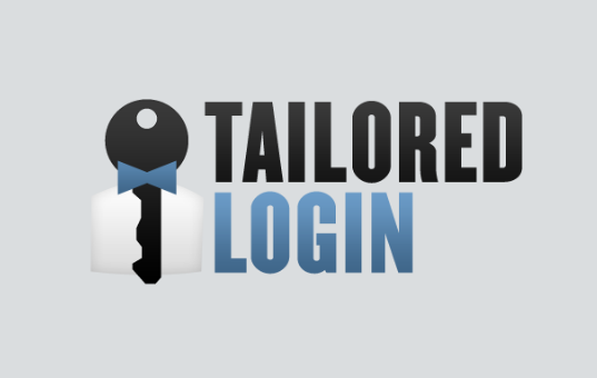 tailored login