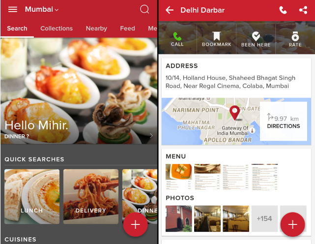 Zomato: Best Android Apps You Need To Download For Travelling To India