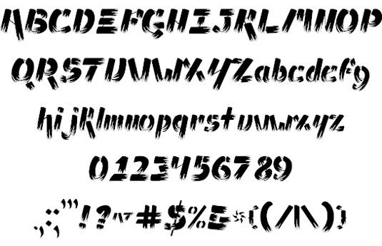 Ampad Brush Font