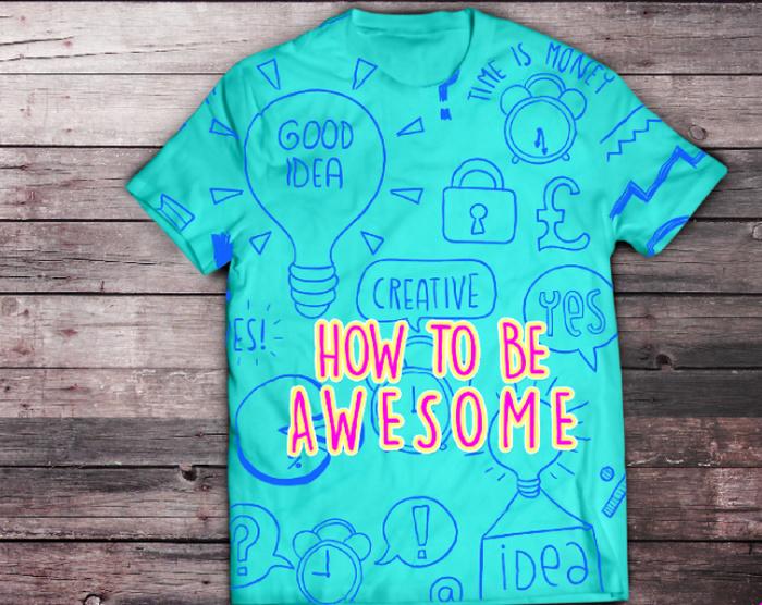 Aqua-T-Shirt-Mockup