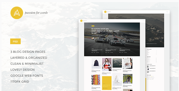 Artistry - Blog Magazine PSD Theme