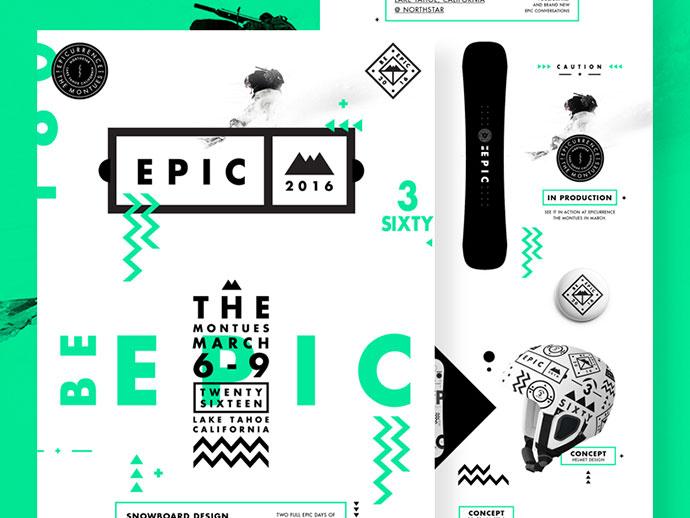 Be Epic. Presentation Deck by Studio–JQ