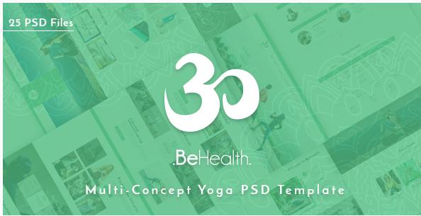 BeHealth - Yoga & Health Center PSD Template