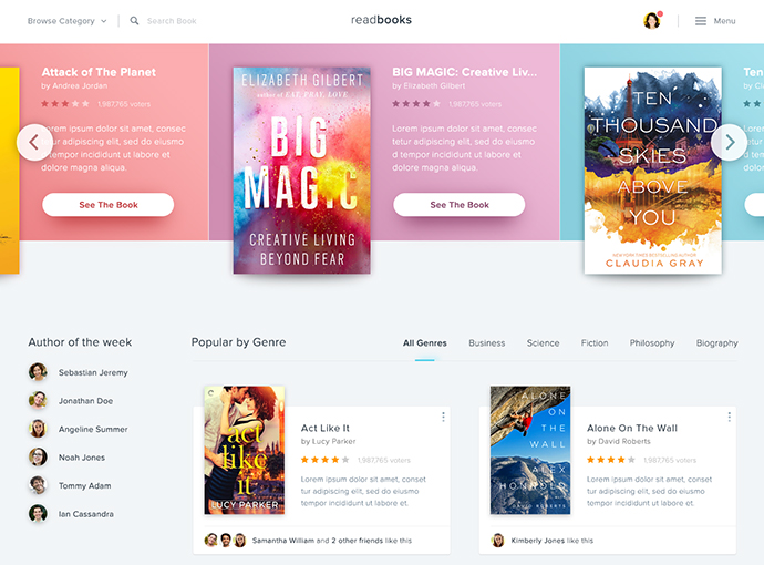 Book Store Website