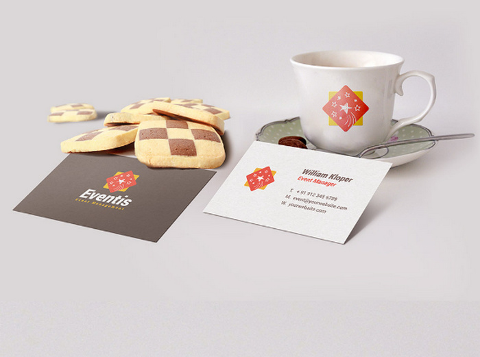 Business-Card-And-Coffee-Cup-Scene-Mockup-PSD