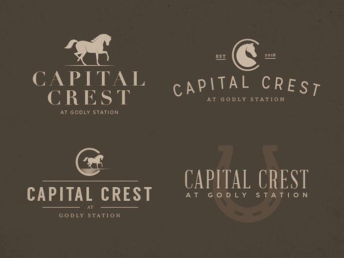 Capital Crest – Logos by Tyler Merritt