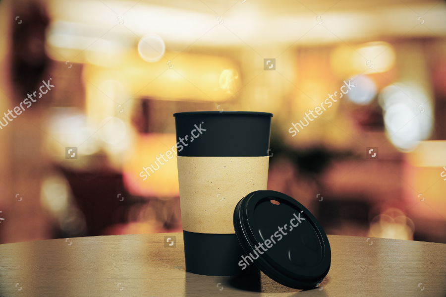Coffee-Cup-Mockup-with-Blurred-Background