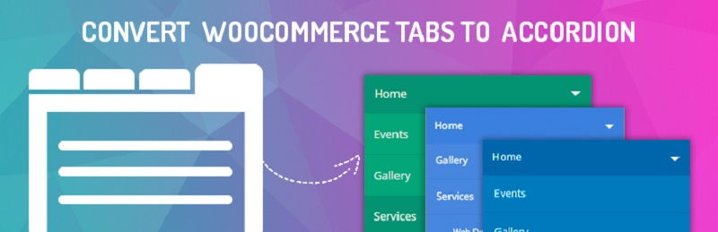 Convert WooCommerce Tabs To Accordion