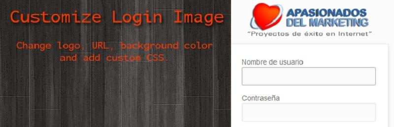 Customize Login Image