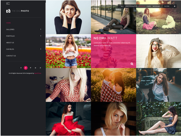 Best Photography PSD Templates