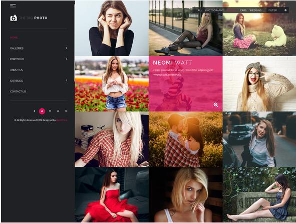 Digi Studio PSD Template for Photography