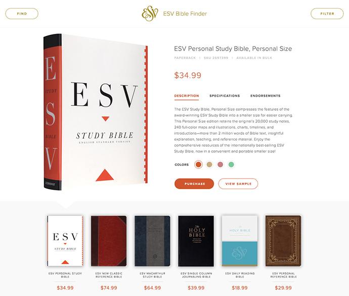 ESV Bible Finder