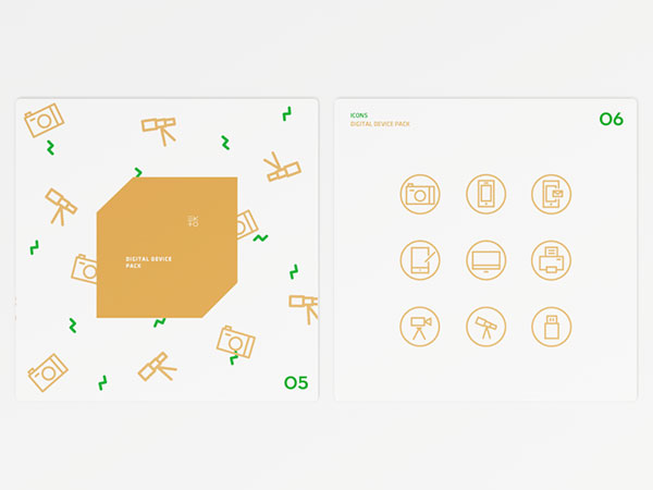 EXITO – Icons & Package Design