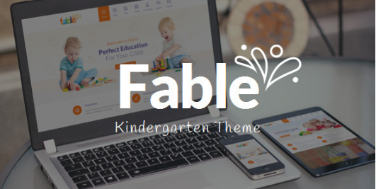 FABLE best-wordpress-kids-and-kindergarten-themes