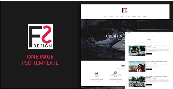 FS - One Page Template