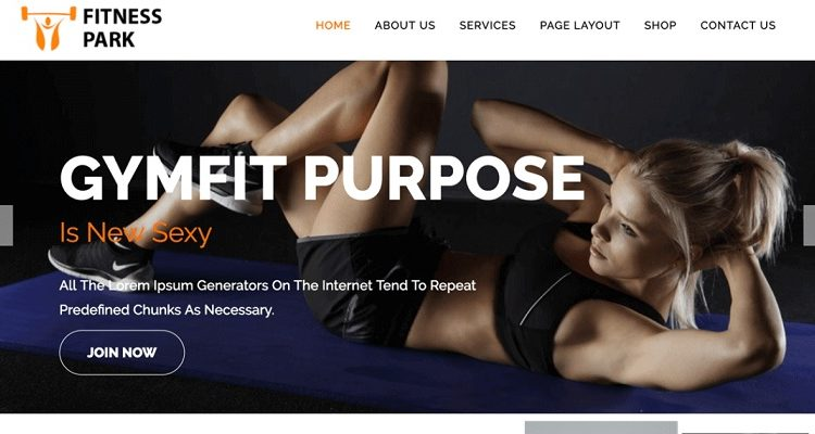 Free Fitness WordPress Themes