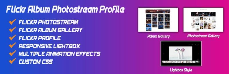 Flickr Album Photostream Profile