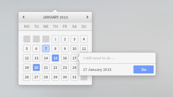 Free Calendar .PSD – YesIMaDesigner