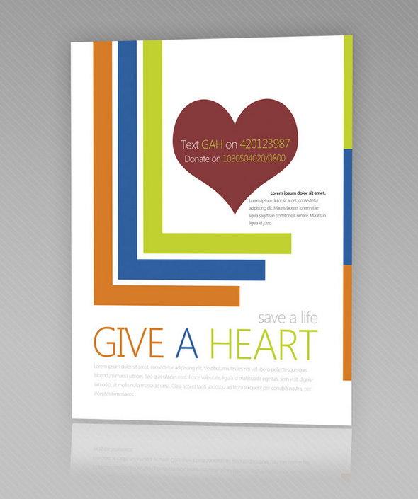 Give-a-Heart-Flyer-PSD
