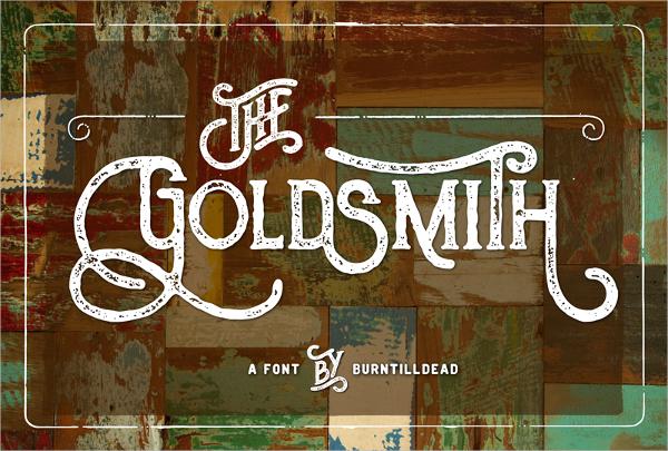 Goldsmith-Typography-Font