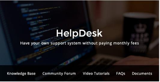 HELPDESK Best WordPress Knowledge Base Themes