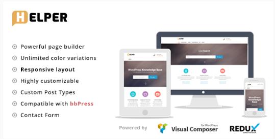HELPER Best WordPress Knowledge Base Themes
