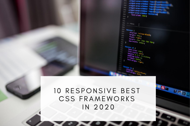 Best CSS Frameworks In 2020
