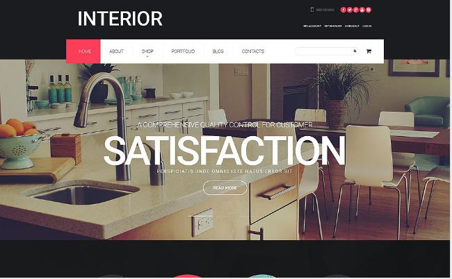 Best Furniture Bootstrap Themes